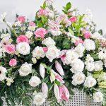rouwbloemwerk