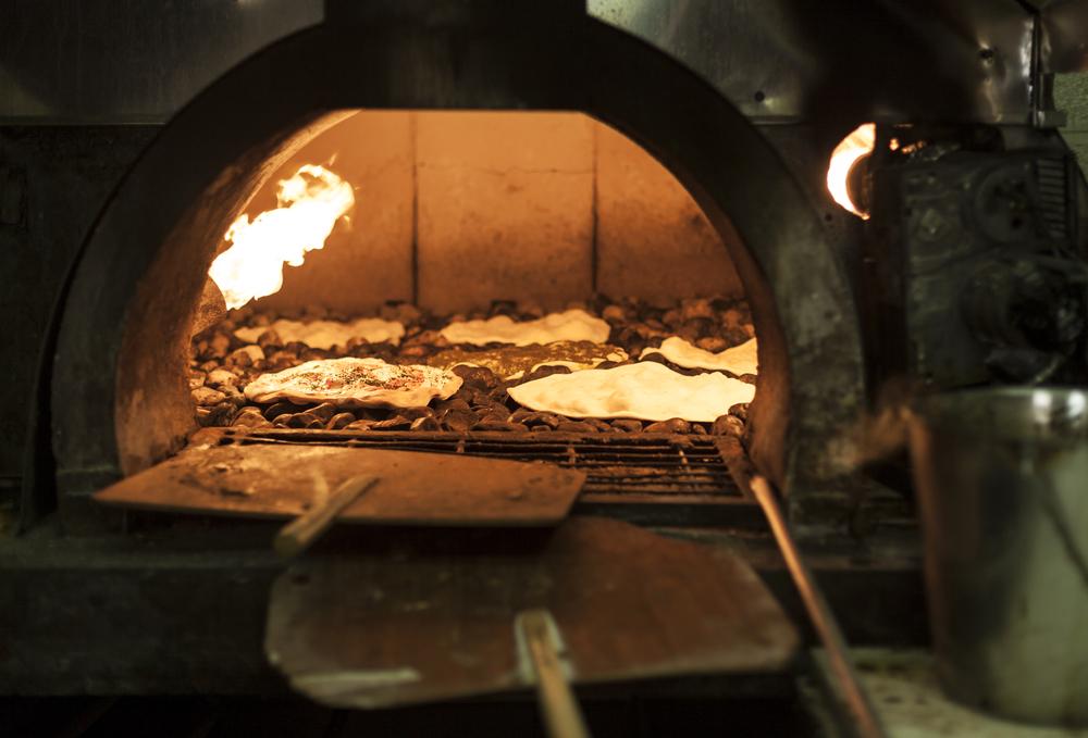 buiten oven houtgestookt